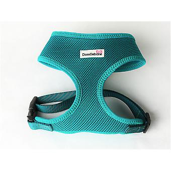 Doodlebone Mesh Harness Teal Extra Small 28.5-39cm