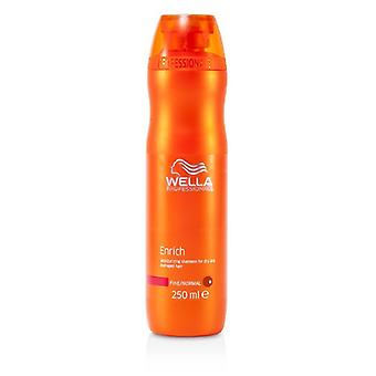 Wella Enrich Moisturizing Shampoo For Dry & Damaged Hair (Fine/Normal) 250ml/8.4oz