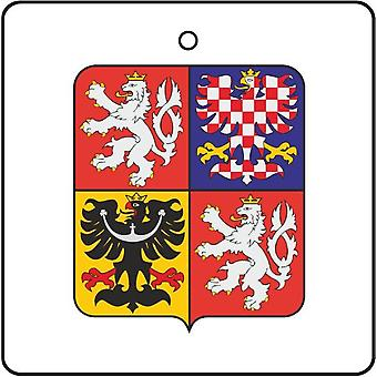 Czech Republic Coat Of Arms Car Air Freshener