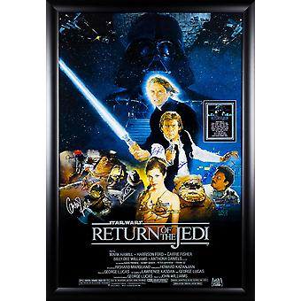 Star Wars - o retorno de Jedi - assinado Poster do filme