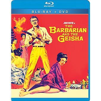 Barbarian & the Geisha [BLU-RAY] USA import