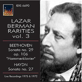 Beethoven / Haydn - Lazar Berman sjældenheder 3 [CD] USA import