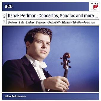 Itzhak Perlman - Itzhak Perlman: Koncerter, sonater og mere... [CD] USA import