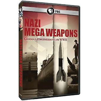 Nazi Megaweapons [DVD] USA import