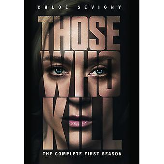 Those Who Kill: The Complete First Season [DVD] USA import