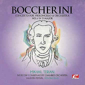 L. Boccherini - Boccherini: Concerto for Violoncello & Orchestra No. 2 in D Major [CD] USA import