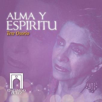 Tere Osorio - Alma Y Espiritu [CD] USA import