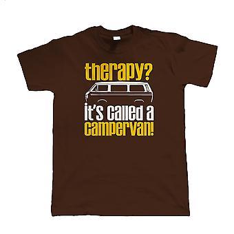 Therapie Campervan, Mens Funny T-Shirt