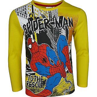Garçons Marvel Spiderman Long Sleeve T-Shirt / Top
