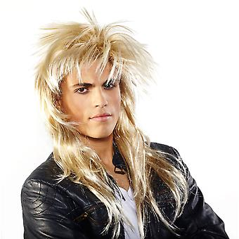 Johnny wig rocker blond mane Carnival rocker wig