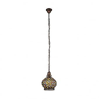 Eglo JADIDA Indian Bowl Ceiling Pendant