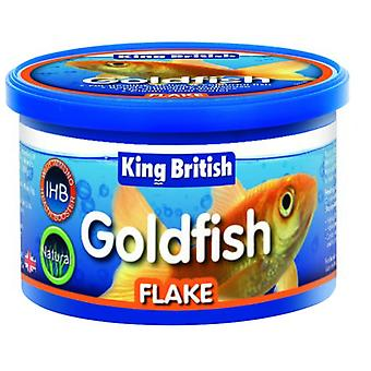 King British Natural Goldfish Flake (With IHB) (Peces , Comida , Agua fría)