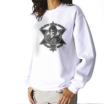 Black Star Ninja Ninjutsu Dojo American Ninja Women's Sweatshirt