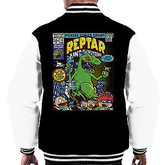 Reptar King Of Monsters Rugrats Men's Varsity Jacket