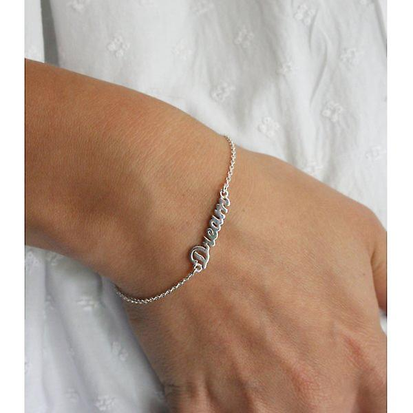 W.A.T Sterling Silver Chain Dream Bracelet