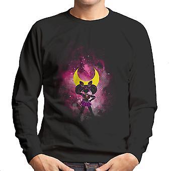 Sailor Moon Pink Luna Peace Men's Sweatshirt