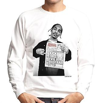Snoop Dogg Daily Star Newspaper menns Sweatshirt