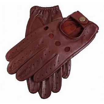 Dents Delta Leather Driving Gloves - English Tan