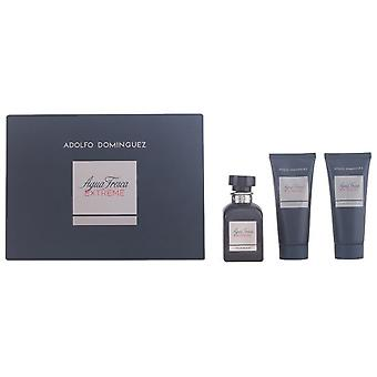 Adolfo Domínguez Fresh water Extreme Edt 120ml + 100ml + Gel Balm As 100Ml