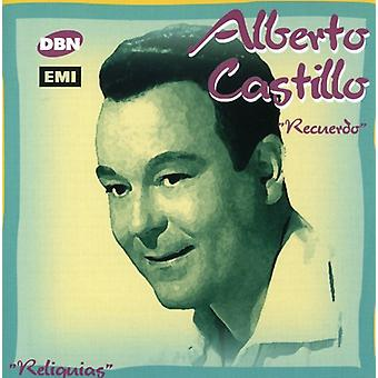 Alberto Castillo - Recuerdo [CD] USA import