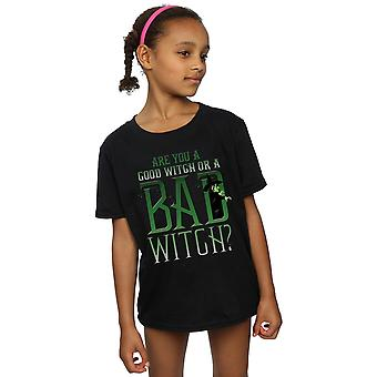Wizard of Oz Girls Good Witch Bad Witch T-Shirt