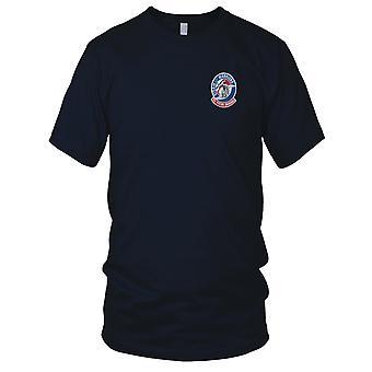 US Coast Guard USCG - Air Station Savannah Georgia Embroidered Patch - Mens T Shirt
