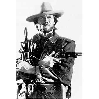 Clint Eastwood Poster drucken (24 x 36)