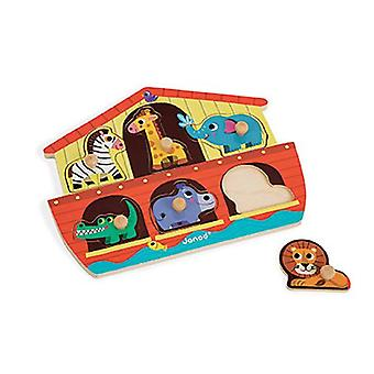 Janod Noah's Ark Chunky Wooden Puzzle