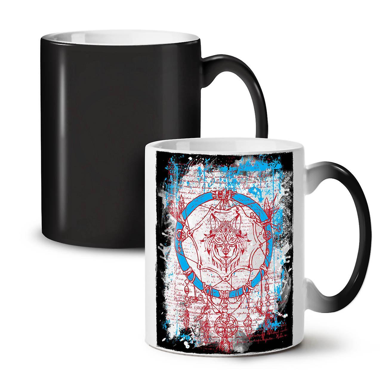 11 Fantasy Couleur Tasse Noir De Art Café Nouveau Changeant Thé Dream Céramique OzWellcoda mn0wvyN8OP