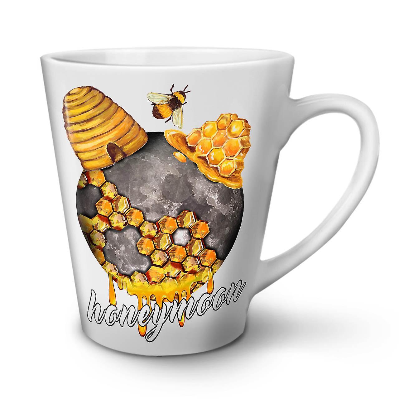 12 Latte En Mariage Céramique Forfait Café Lune Miel OzWellcoda Blanche De Nouvelle Tasse zLSGqUpMV