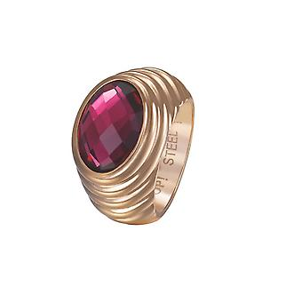 Joop women's ring stainless steel Rosé SELENA JPRG10624C1