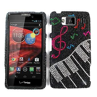 Ubegrenset mobilnettet Full diamant Crystal dekning for Motorola XT926 Droid Maxx HD (