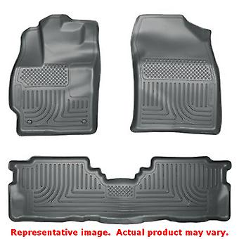 Husky Liners 98912 Grey WeatherBeater Front & 2nd Seat  FITS:TOYOTA 2012 - 2014