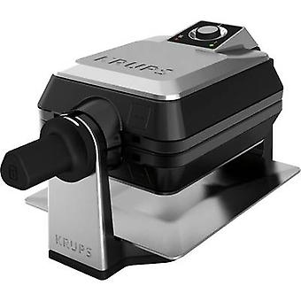 Waffle maker Krups Professional FDD95D Stainless steel, Black