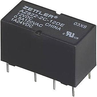 PCB relays 24 Vdc 2 A 2 change-overs Zettler Electronics