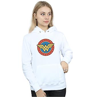 DC Comics Women's Wonder Woman Circle Logo Hoodie