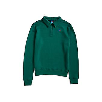 Russell Athletic Comets Half Zip Sweater Green
