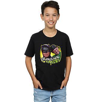 DC Comics Boys Batman TV Series The Riddler Joke T-Shirt