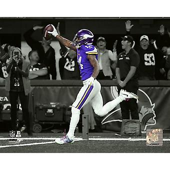 Stefon Diggs Game Winning Touchdown 2017 NFC Divisional Playoff Game Spotlight Photo Print