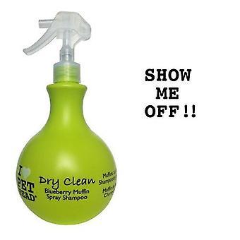 Para mascotas cabeza Clean Spray champú seco para gatos y perros 450ml (juego de 3)
