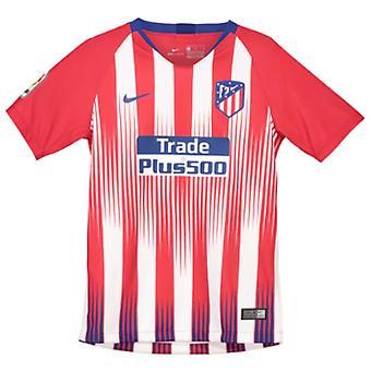 2018-2019 Атлетико Мадрид дома Nike рубашка (дети)