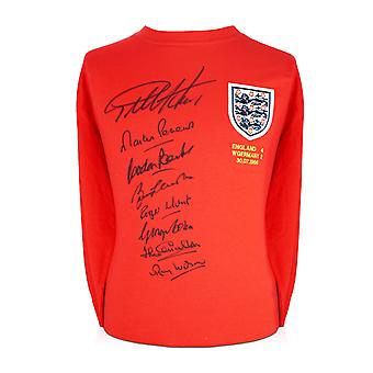 England 1966 World Cup Winning Team Signed Shirt