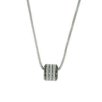 Skagen ladies necklace Pernille anthracite JNSM029