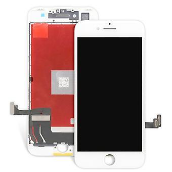 Komplett Avläsningsenheten LCD pekskärm för Apple iPhone 8 4,7 vit