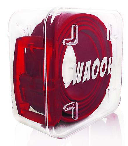 Waooh - Ceinture Plastique Waooh Bordeau