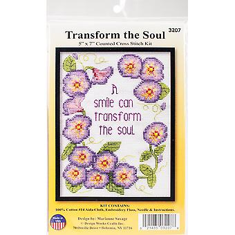 Transform The Soul Counted Cross Stitch Kit-5