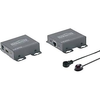 HDMI™ Extension via RJ45 network cable Marmitek MegaView 66 60 m