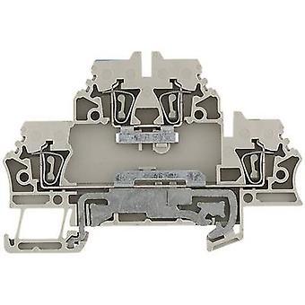 Weidmüller 1689980000 ZDK 2.5N-PE 0.5 - 2.5 mm² Beige