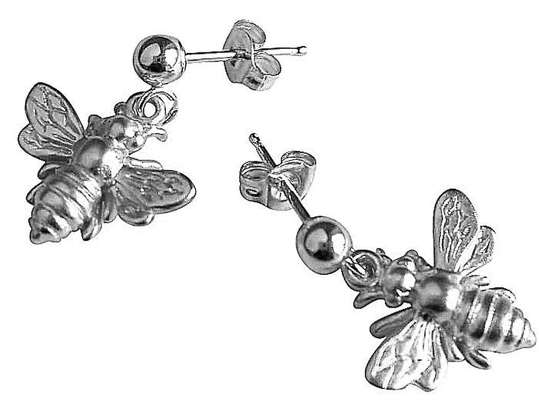 Gemshine - femmes - Ohrbaguee - 925 argent - BEE - Biene - 1,5 cm