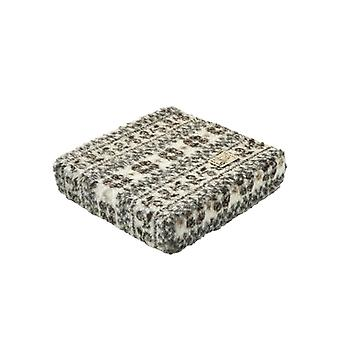 Booster seat cushion stand-up help beige Brown 40 x 40 x 10 cm